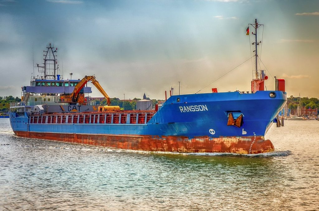 ship, freighter, technology